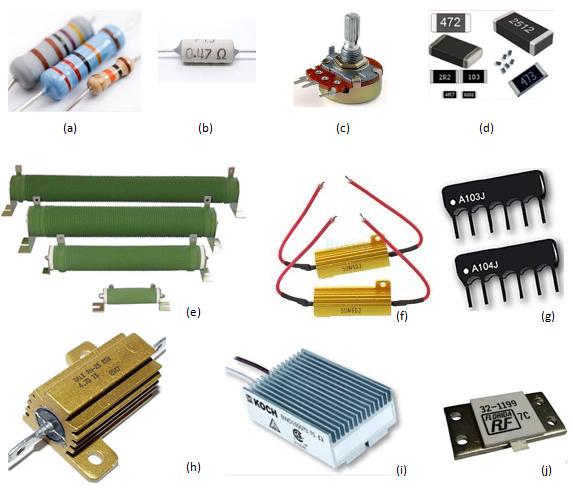 модели фото и тип резисторов японии это